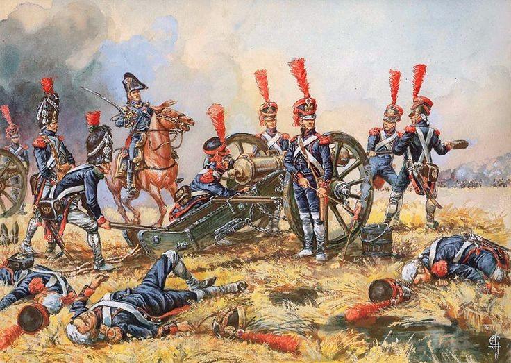 Artillerie de la Garde Wagram juillet 1809 Jack Girbal .jpg