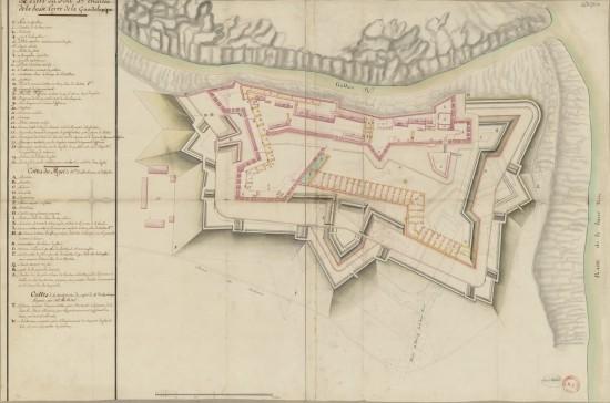 plan-du-fort-saint-charles-guadeloupe